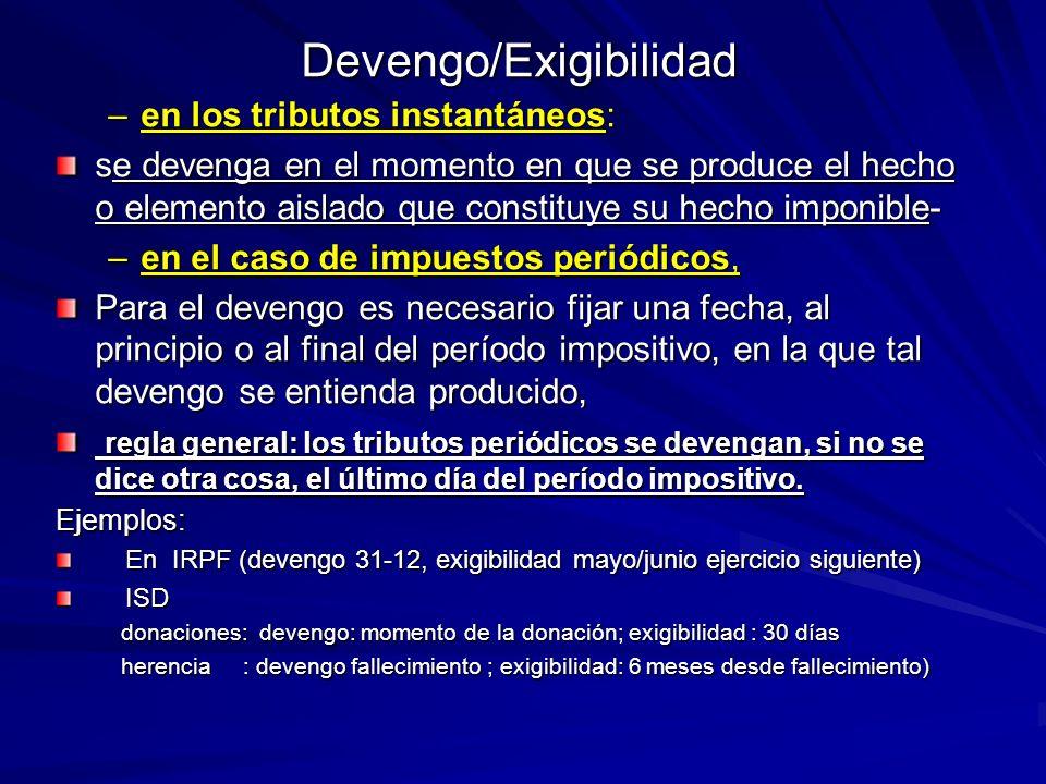 Devengo/Exigibilidad
