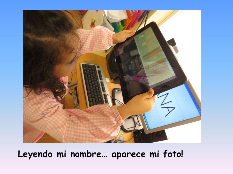 Leyendo mi nombre… aparece mi foto!