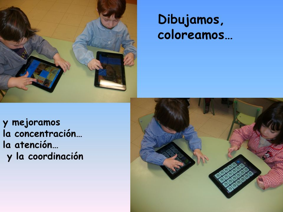 Dibujamos, coloreamos…