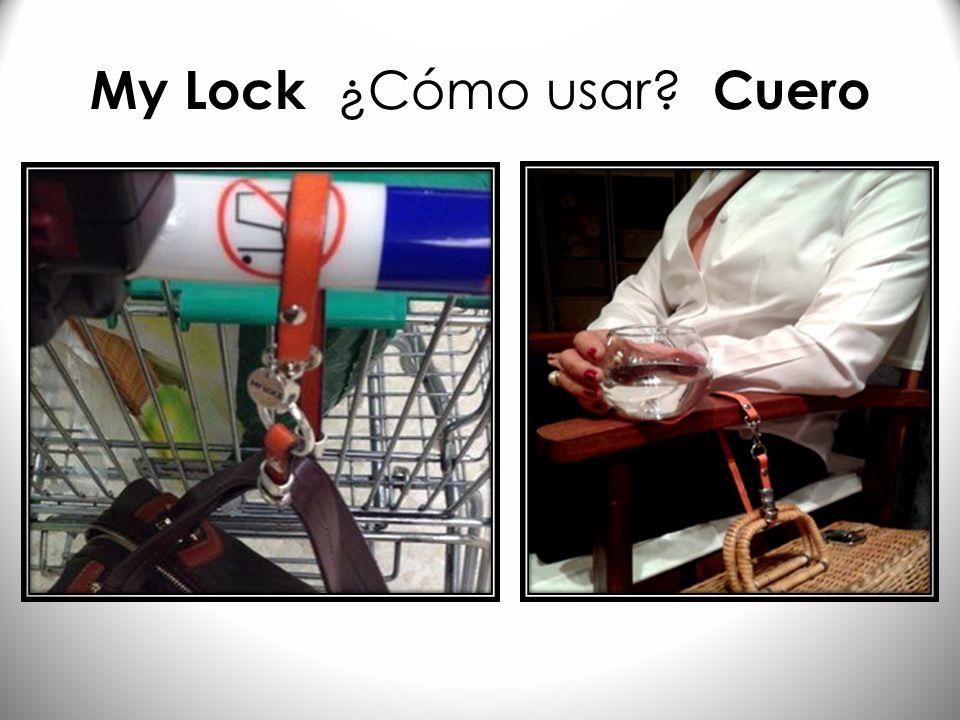 My Lock ¿Cómo usar Cuero