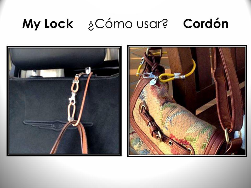 My Lock ¿Cómo usar Cordón