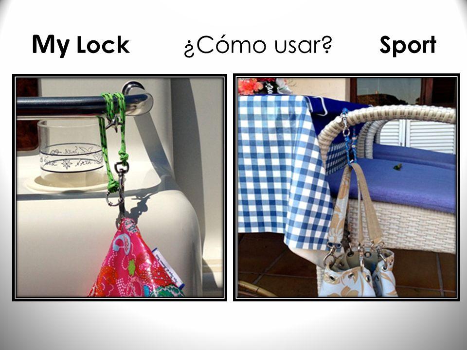 My Lock ¿Cómo usar Sport