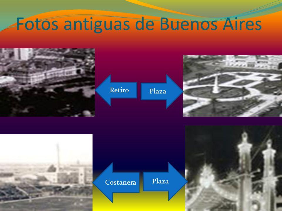 Fotos antiguas de Buenos Aires