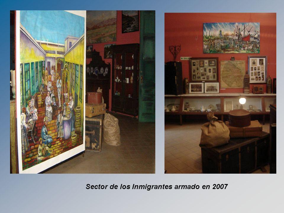 Sector de los Inmigrantes armado en 2007