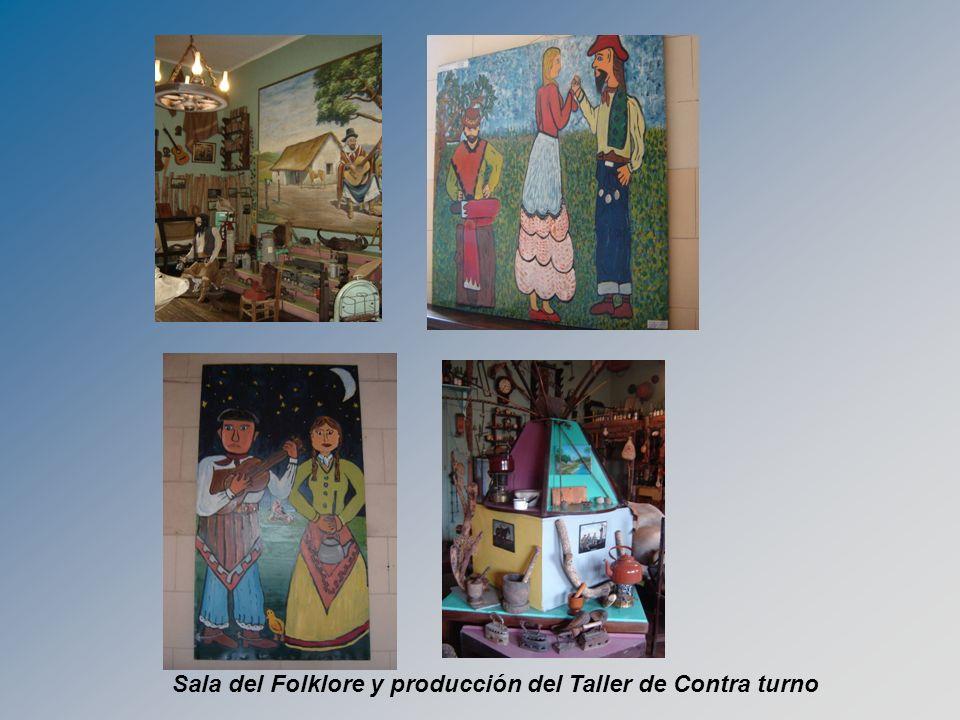 Sala del Folklore y producción del Taller de Contra turno