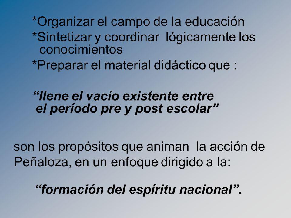 formación del espíritu nacional .