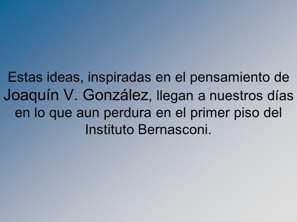 Estas ideas, inspiradas en el pensamiento de Joaquín V