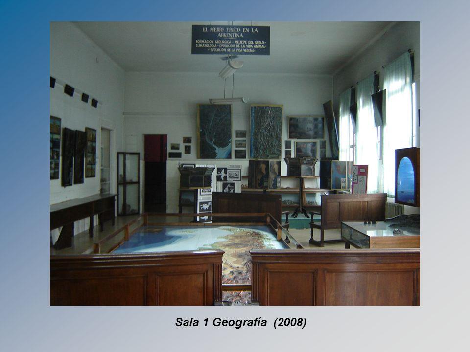 Sala 1 Geografía (2008)