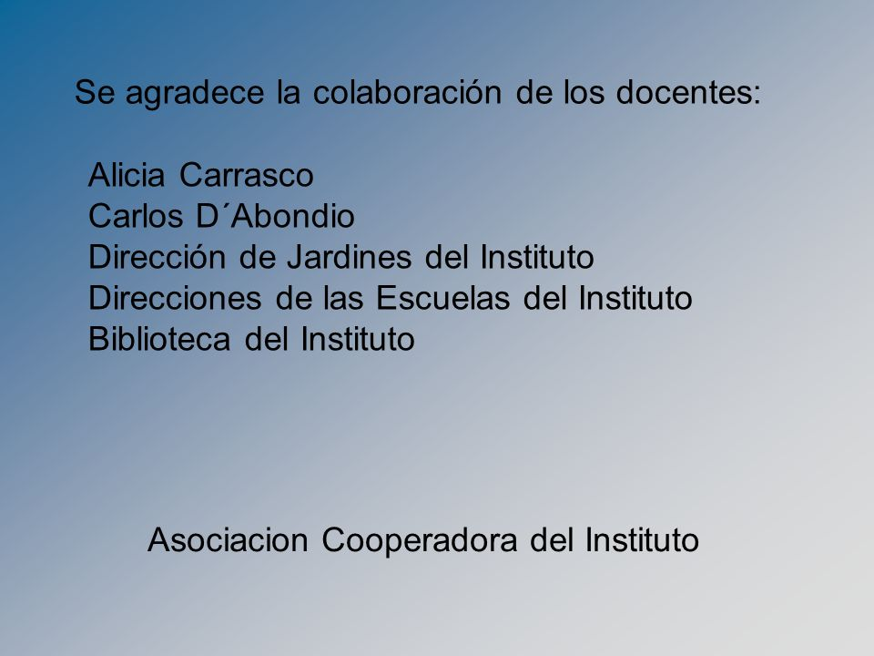 Asociacion Cooperadora del Instituto