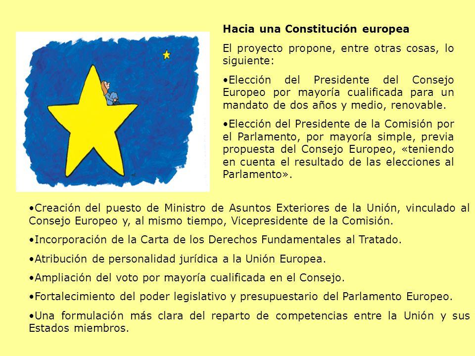 Hacia una Constitución europea