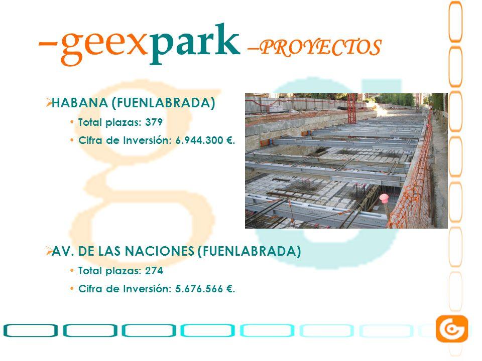 geexpark PROYECTOS HABANA (FUENLABRADA)