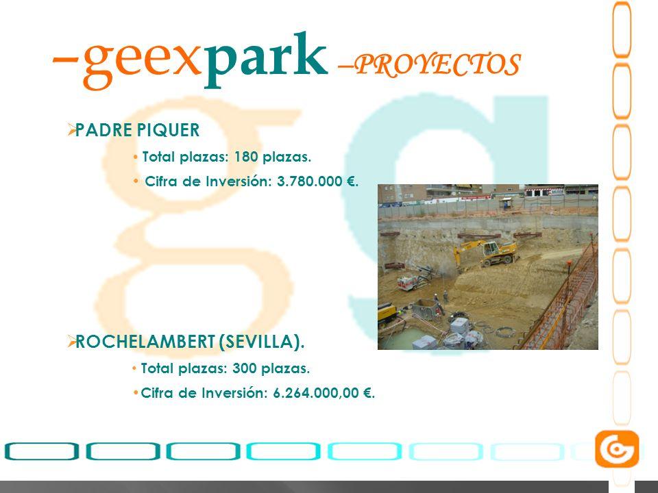 geexpark PROYECTOS PADRE PIQUER ROCHELAMBERT (SEVILLA).