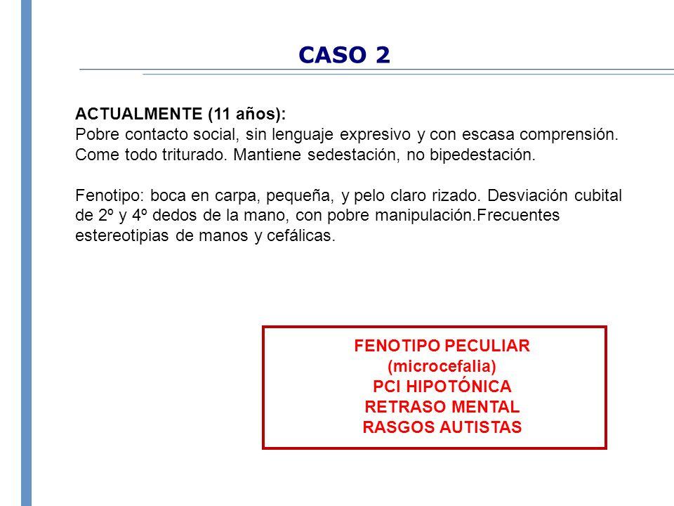 CASO 2 ACTUALMENTE (11 años):