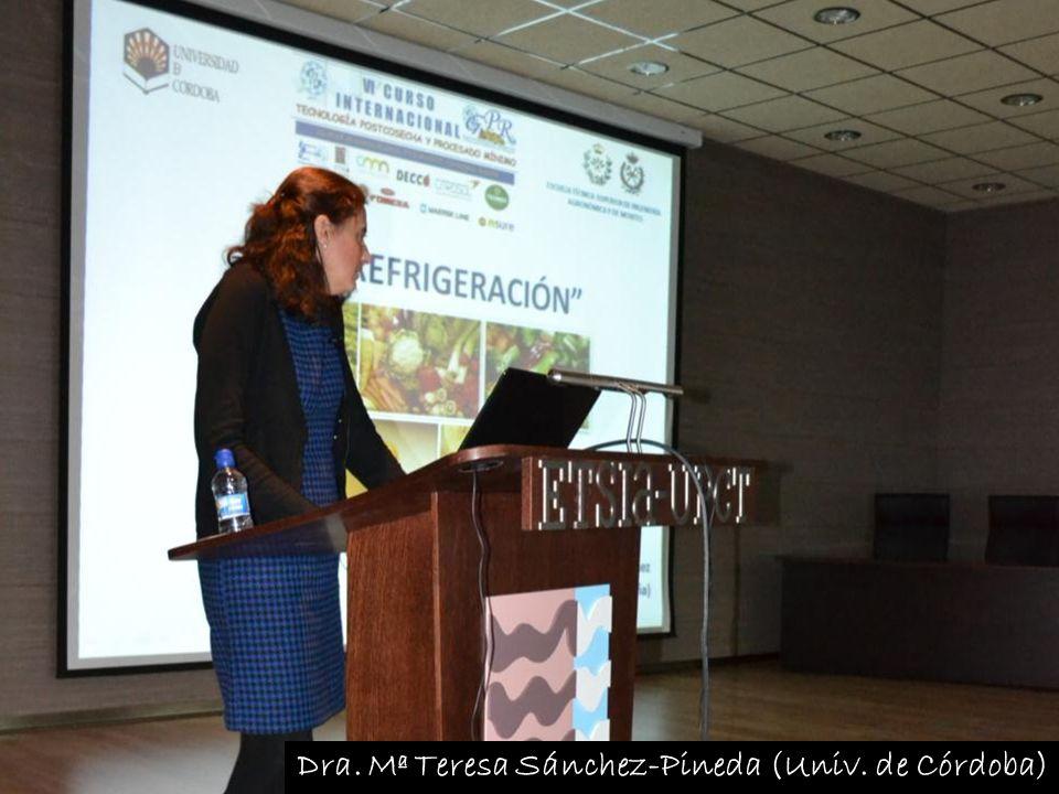 Dra. Mª Teresa Sánchez-Pineda (Univ. de Córdoba)