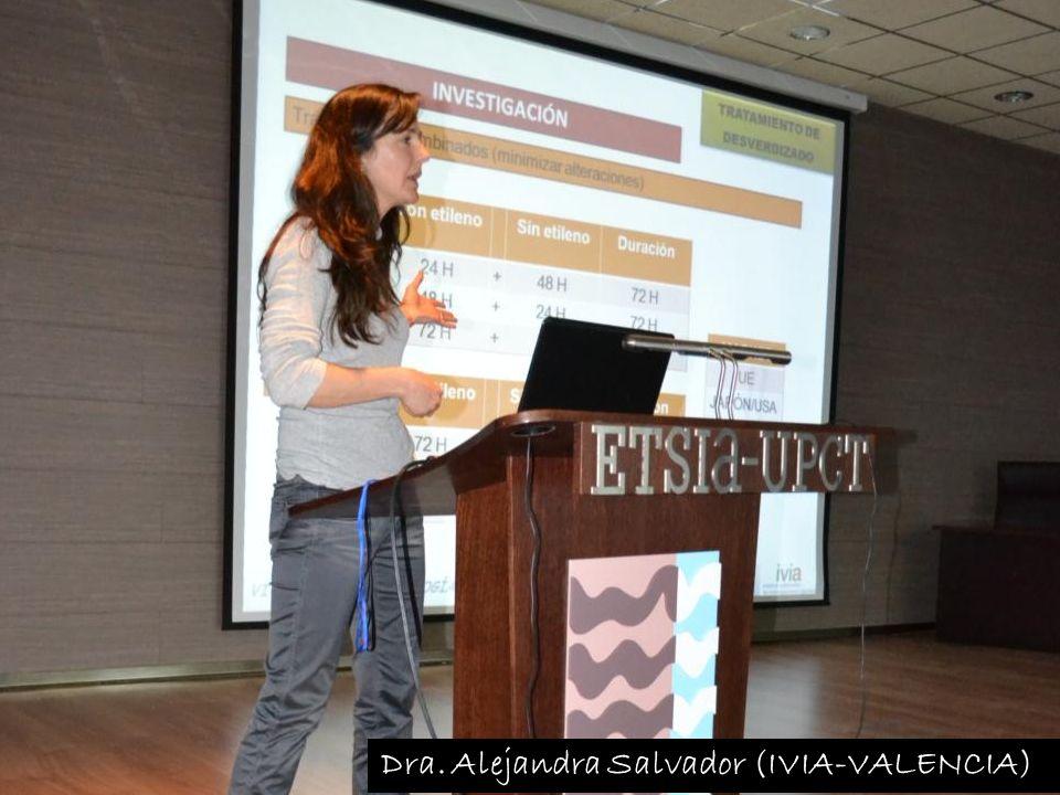 Dra. Alejandra Salvador (IVIA-VALENCIA)