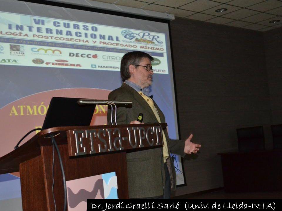 Dr. Jordi Graell i Sarlé (Univ. de Lleida-IRTA)
