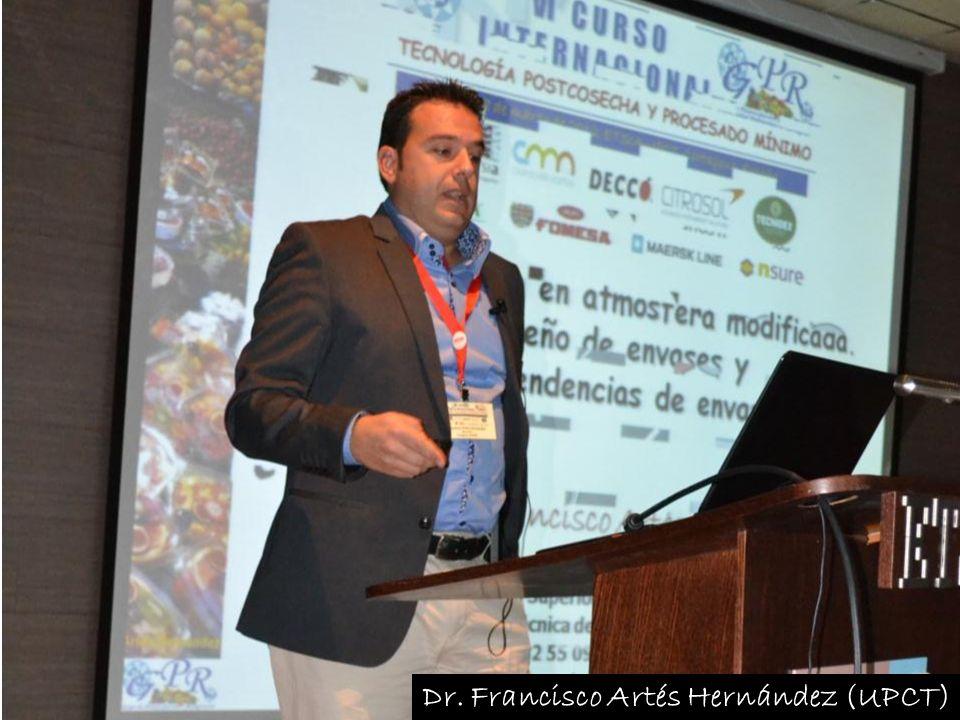Dr. Francisco Artés Hernández (UPCT)