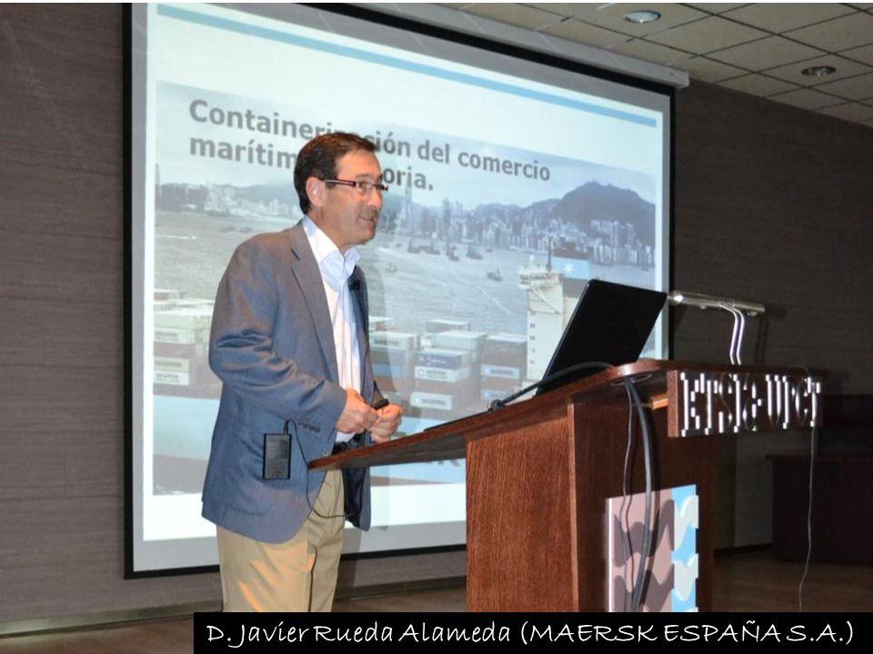 D. Javier Rueda Alameda (MAERSK ESPAÑA S.A.)