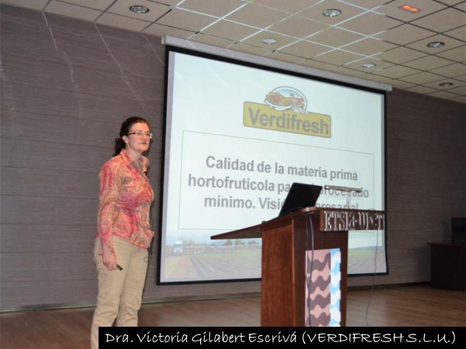 Dra. Victoria Gilabert Escrivá (VERDIFRESH S.L.U.)
