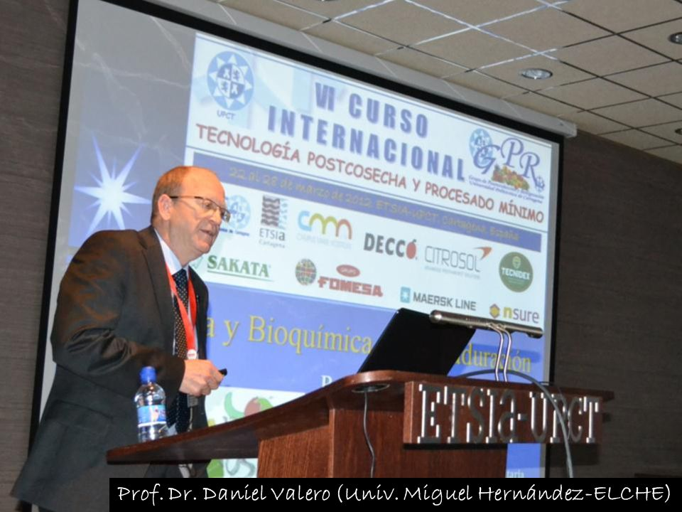 Prof. Dr. Daniel Valero (Univ. Miguel Hernández-ELCHE)