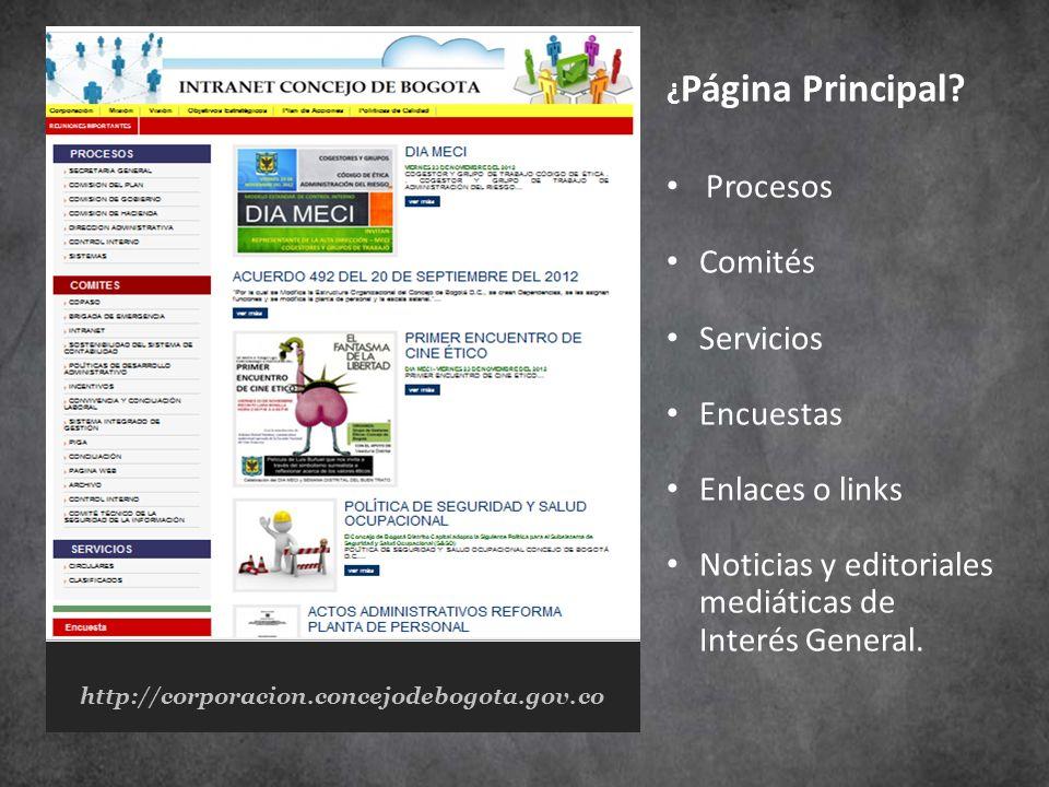 Noticias y editoriales mediáticas de Interés General.