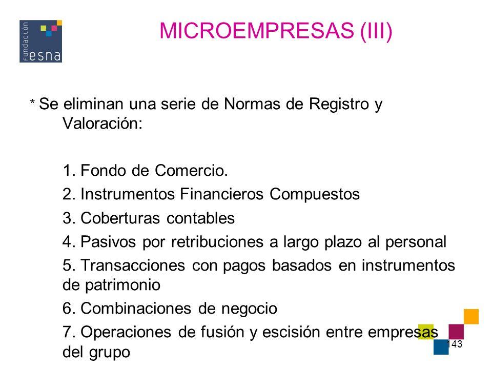 MICROEMPRESAS (III) 1. Fondo de Comercio.