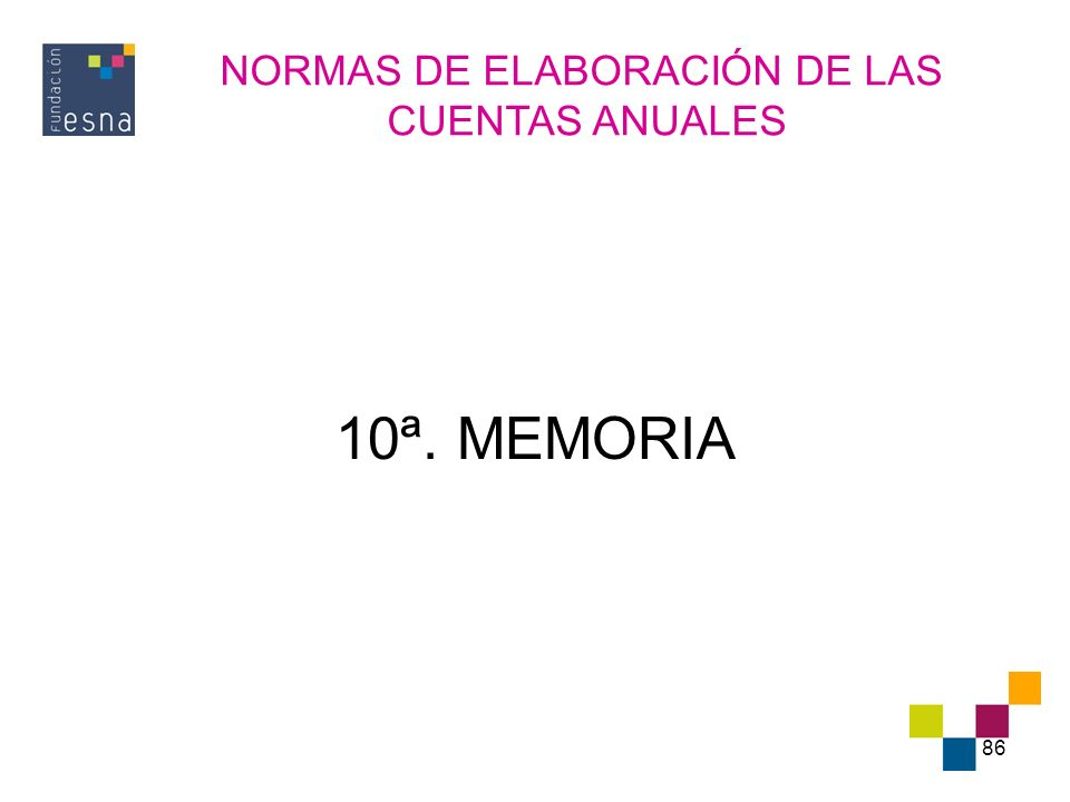 NORMAS DE ELABORACIÓN DE LAS