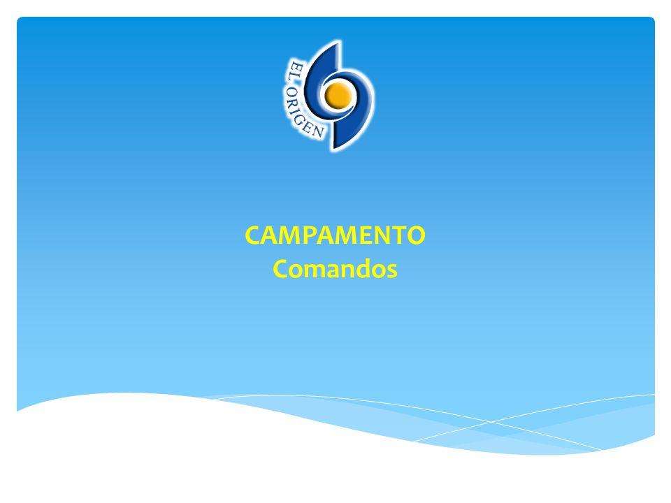 CAMPAMENTO Comandos