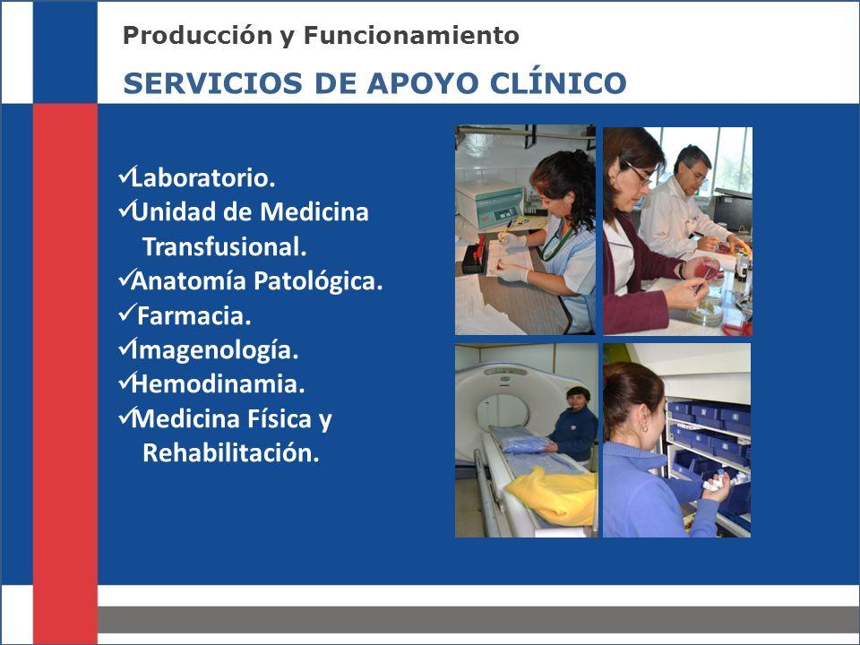 MECANISMOS DE COMUNICACIÓN SERVICIOS DE APOYO CLÍNICO