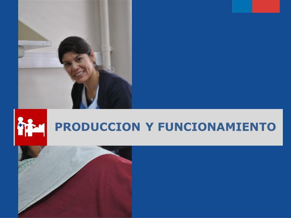 PRODUCCION Y FUNCIONAMIENTO