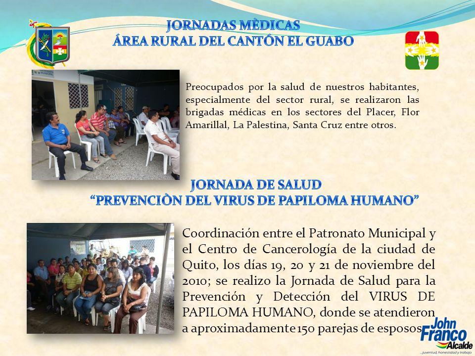 ÁREA RURAL DEL CANTÓN EL GUABO