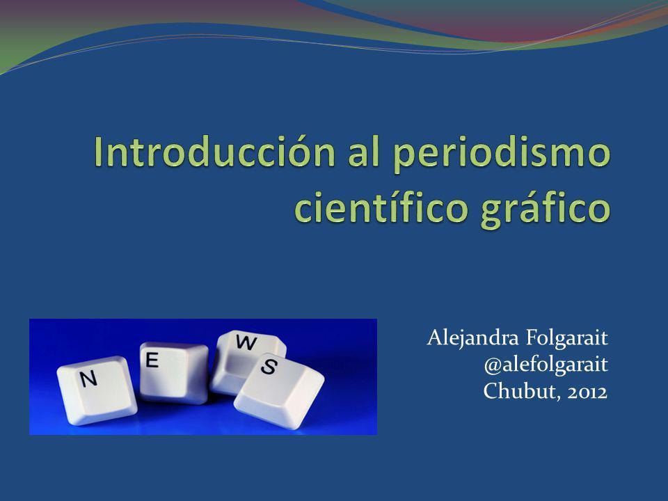 Introducción al periodismo científico gráfico