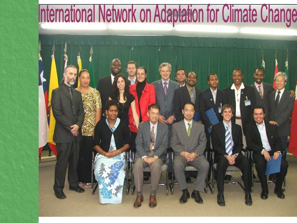 International Network on Adaptation for Climate Change