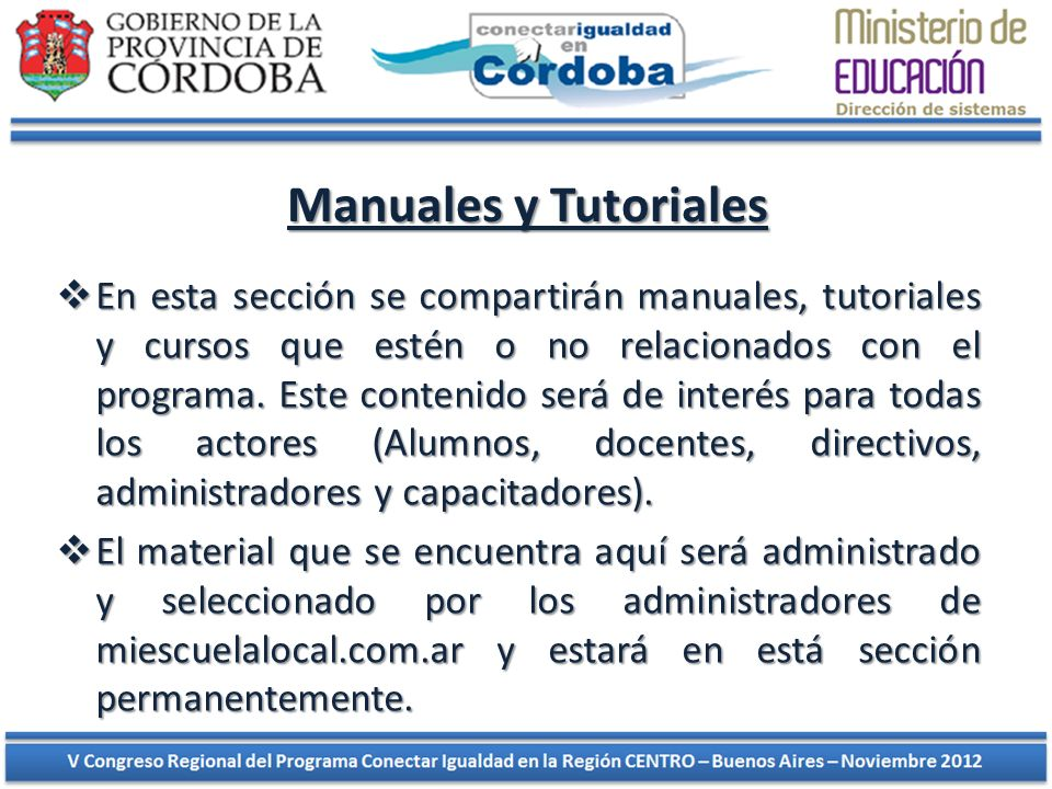 Manuales y Tutoriales