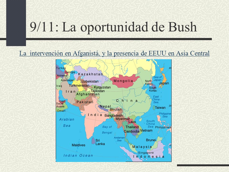 9/11: La oportunidad de Bush