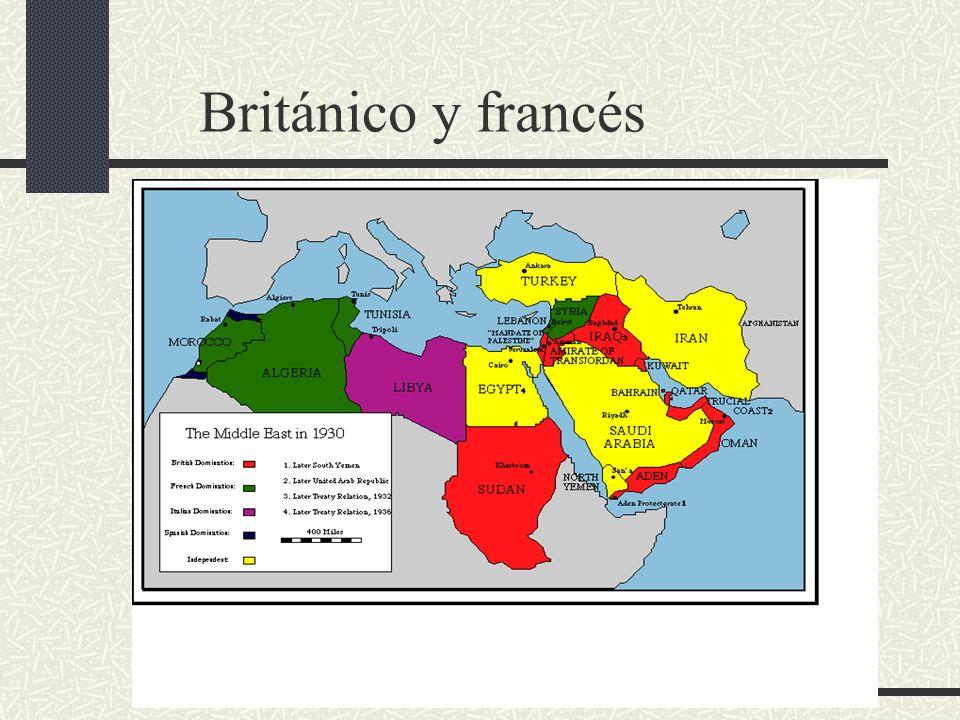 Británico y francés