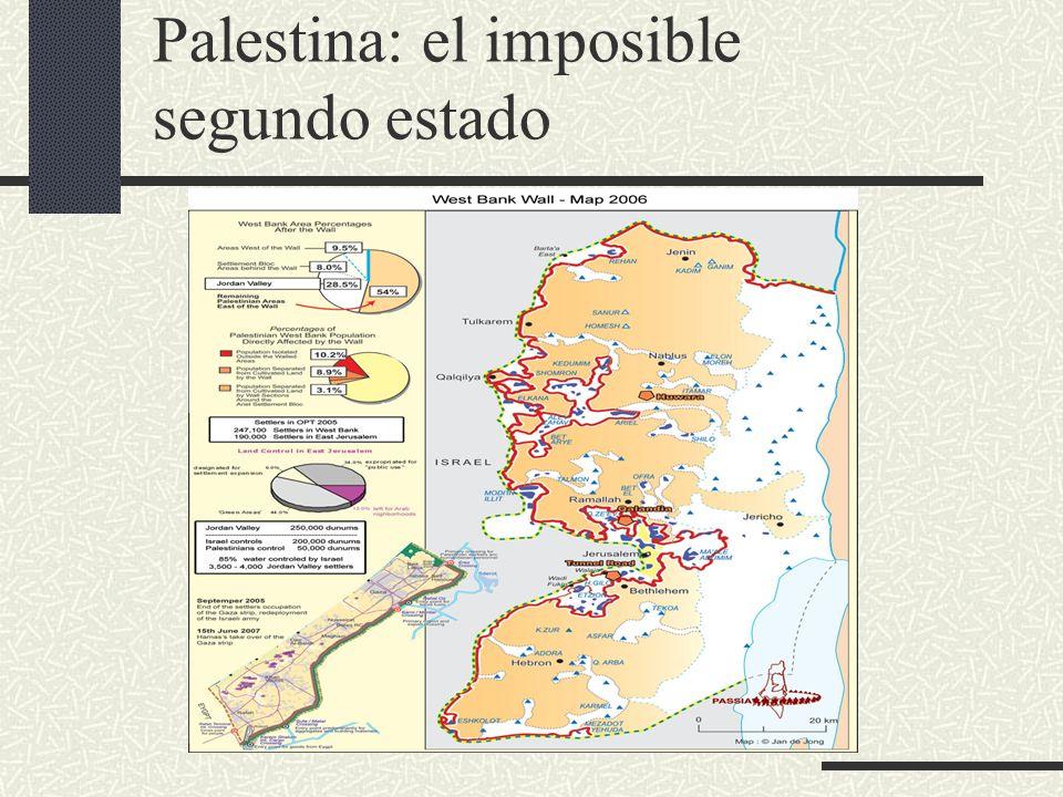 Palestina: el imposible segundo estado