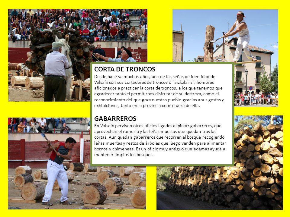 CORTA DE TRONCOS GABARREROS