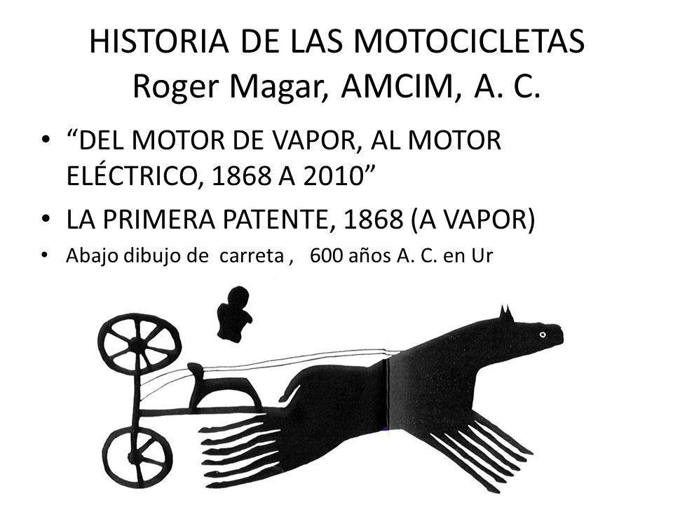 HISTORIA DE LAS MOTOCICLETAS Roger Magar, AMCIM, A. C.