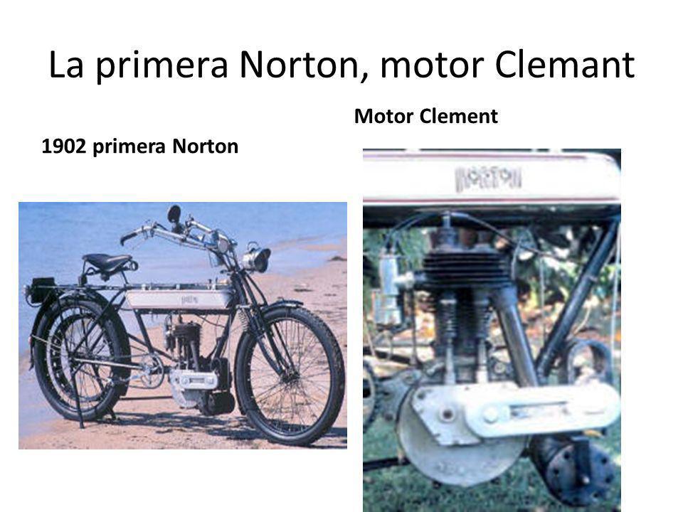 La primera Norton, motor Clemant