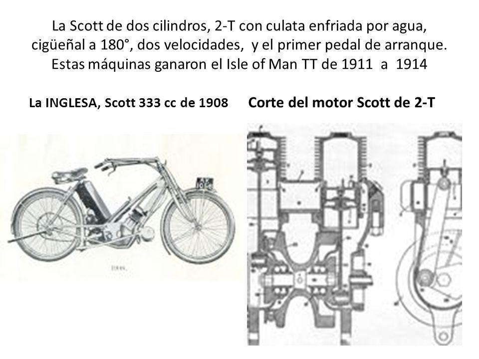 Corte del motor Scott de 2-T