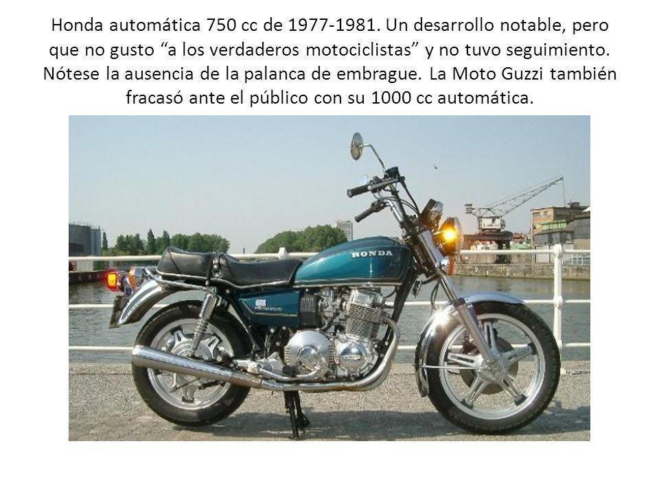 Honda automática 750 cc de 1977-1981