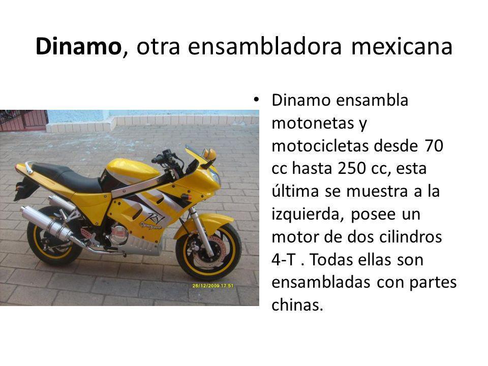 Dinamo, otra ensambladora mexicana