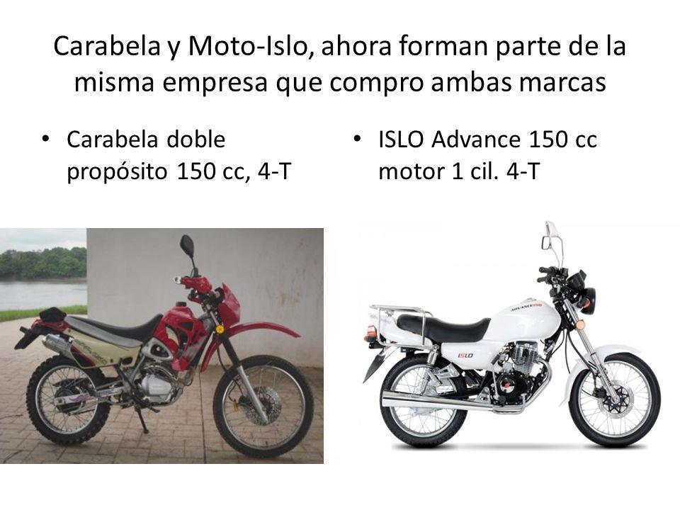 Carabela y Moto-Islo, ahora forman parte de la misma empresa que compro ambas marcas