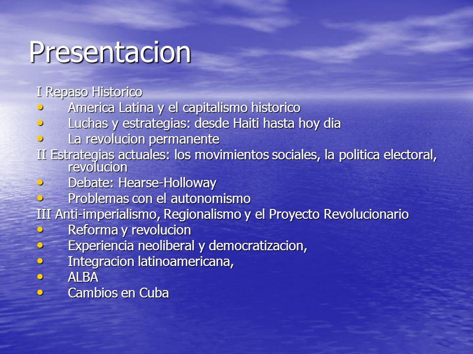 Presentacion I Repaso Historico