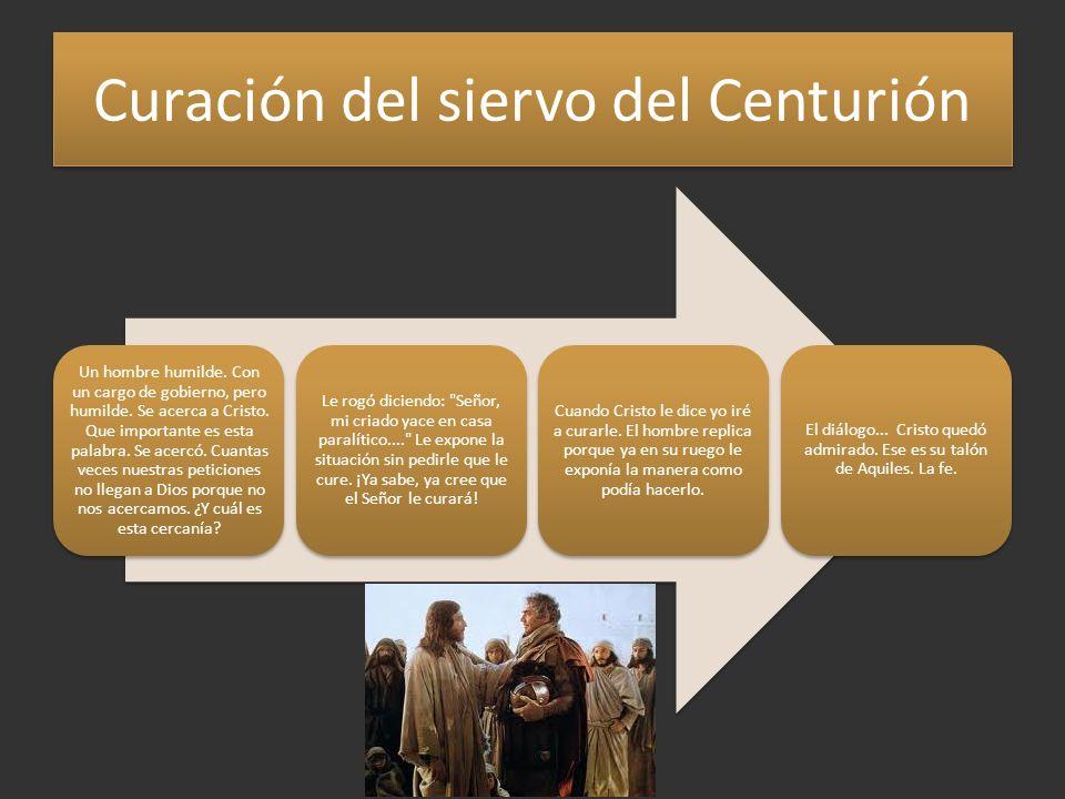 Curación del siervo del Centurión