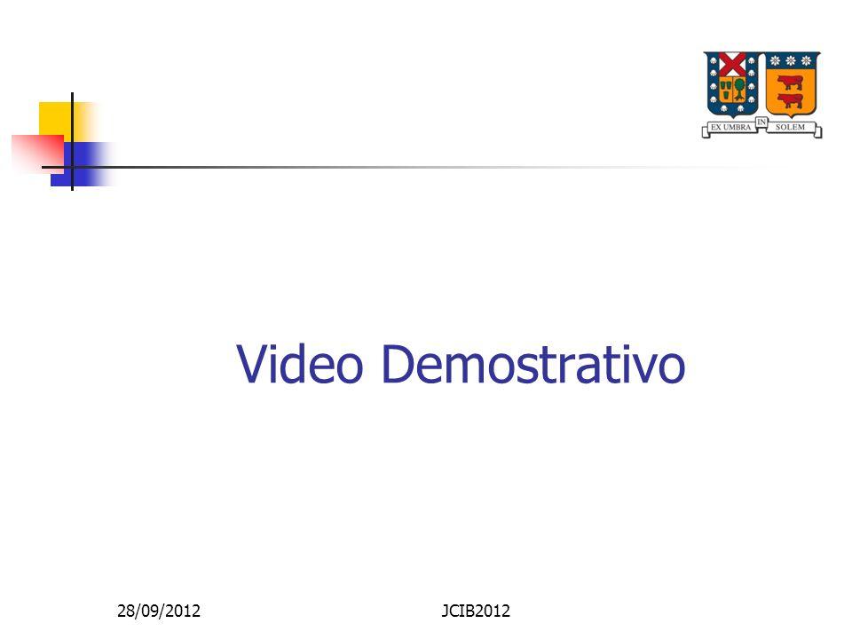 Video Demostrativo 28/09/2012 JCIB2012