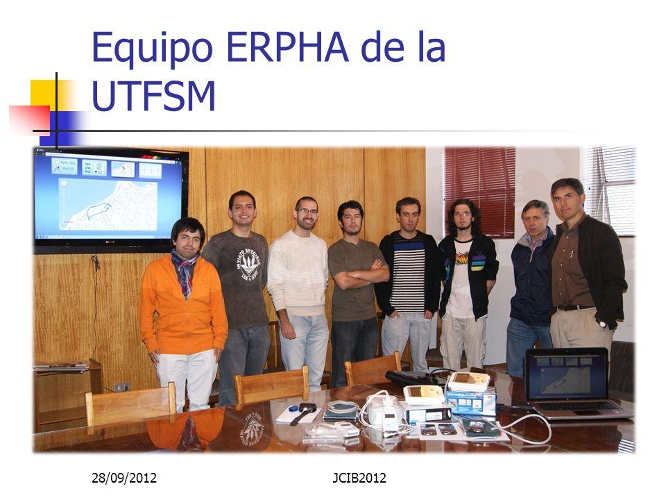 Equipo ERPHA de la UTFSM