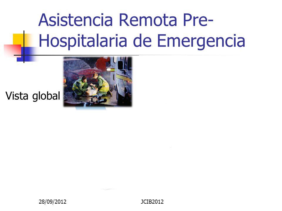 Asistencia Remota Pre-Hospitalaria de Emergencia