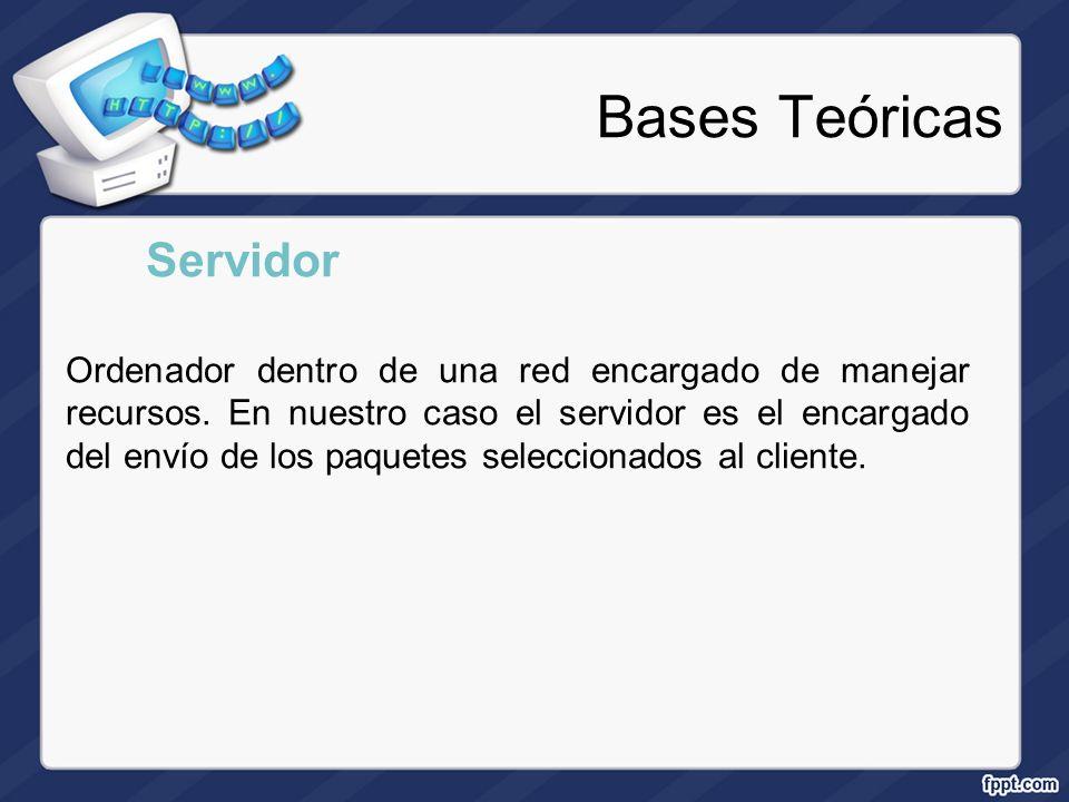 Bases Teóricas Servidor